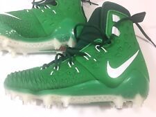 Nike Force Savage Elite Td Football Cleats Green White 857063-313 Mens Size 10