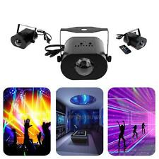 RGB Light Water Wave Effect Ripple LED Projector Party DJ Club Stage Remote