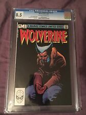 WOLVERINE #3 LIMITED SERIES (MARVEL 1982) CGC 8.5!