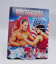 NO RETREAT NO SURRENDER - Glossy Bluray Steelbook Magnet Cover (NOT LENTICULAR)