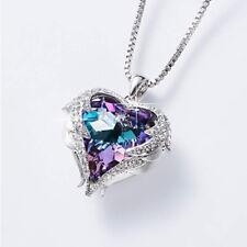 Swarovski White Gold Love Heart Pendant