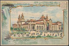 """PAN-AMERICA EXPO 1901 FULL SIZE CARD """"MACHINERY BUILDING' BR9959"""