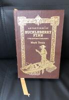 EASTON PRESS COLLECTORS EDITION  ADVENTURES OF HUCKLEBERRY FINN BY MARK TWAIN