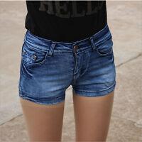 Fashion Sexy Women Summer High Waist Jeans Hot Pants Casual Denim Shorts Short