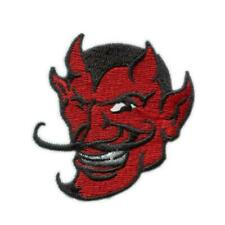 Red Devil Zombie Satan Ghost Embroidered Biker Iron on Patch # M