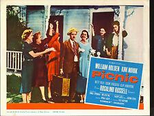 PICNIC orig movie lobby card poster KIM NOVAK/SUSAN STRASBERG/ROSALIND RUSSELL