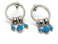 925 Sterling Silver Turquoise Women's Earrings Dangle