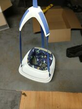 Graco Jumping Bouncing Swing for baby fits in Doorframe Blue Animals