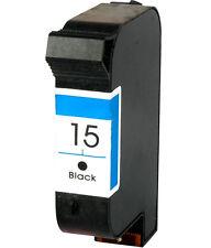 Non-OEM Replace For HP 15 Deskjet 845cvr 920c Black Ink Cartridge