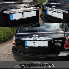 MINI ONE COOPER R56 R57 Cabri R58 Roadster R59 KOFFERRAUMLEISTE UNION JACK BLACK
