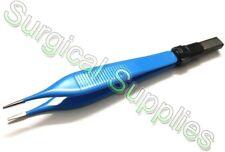 Adson Bipolar Forceps 12cm Length Reusable 1mm Tip European Type Electrosurgical