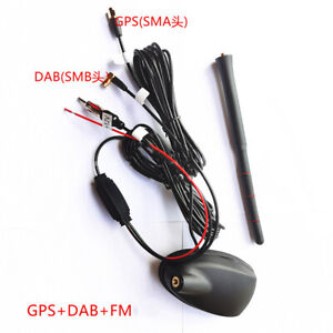 FM/AM/DAB Digital Car Radio Antenna Receiver Amplifier GPS Navigation System Kit