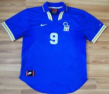 ITALY ITALIA NATIONAL TEAM HOME FOOTBALL SHIRT 1996-1998 JERSEY Casiraghi LARGE