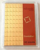 VALCAMBI 1 GRAM, 999.9 FINE GOLD COMBI BAR- VOLUME PRICING,see other gold