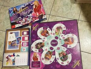 Hannah Montana true you board game Miley Cyrus board game 2008 Milton Bradley
