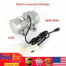 2840Rpm Table Vibrator Motor Concrete Vibrator Motor for Vibrating Shaker 110V