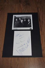 GENESIS signed 8x12 inch autograph matted InPerson in Berlin LOOK