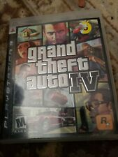 GRAND THEFT AUTO IV PLAYSTATION 3 PS3 COMPLETE IN BOX W/ MANUAL & MAP