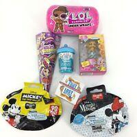 7 Piece Lot Blind Bag Box Toy Items Girls Lost Kitties Lol Suprise Mashems