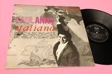 PAUL ANKA LP ITALIANO ORIGINALE 1963 ITALY PRESS EX+ !!!!!!!!!!!!!!!!!