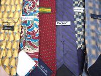 NEW Bulk Men's Designer Neckties Ties Lot of TEN Wholesale