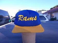 Rams  NFL Football Team Logo New Era Snapback Ball Cap Hat