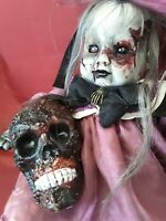 Sinisterly Sissy's 'Laura' Undead,Spooky,Creepy,Haunted,Goth, 24 inch