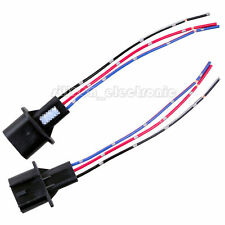 New 2 pieces H13 Male Headlight Repair Wiring Socket Extension Harness