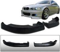 Clubsport flaps for BMW E46 Front Bumper Lip Spoiler Splitter M Sport sides