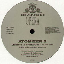 ATOMIZER 2 - Liberty & Freedom - 1992 DANCE OPERA - DO 340