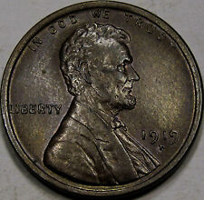 1919-D Lincoln Cent Choice Unc. MS++BN... Flashy Chocolate Brown Coin, Very NICE