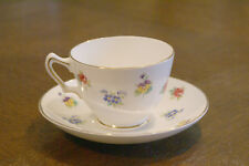 Crown Staffordshire Fine Bone China Cup & and Saucer Plate Dish Dishes Set Tea