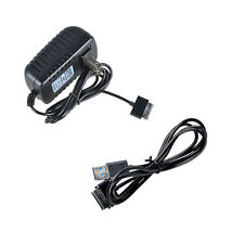 USB Sync Cable+AC Charger Adapter for Asus Eee Pad Transformer TF300T-B1-BL Tab
