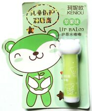Cute kawaii bear *Apple Lip Balm* stick of fruit scented lip moisturiser
