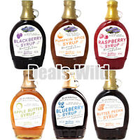 2 Bottles Syrup Made w/ Whole Fruit & Berries Blackberry 12oz x2