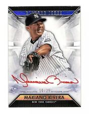 2019 Topps Diamond Icons Mariano Rivera 10/25 red auto autograph card Yankees