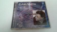"ZUBIN MEHTA ""CARL OFF CARMINA BURANA"" CD 25 TRACKS PRECINTADO SEALED"
