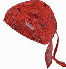 Comeaux RED Welding Surgeons Bandana Universal Cap Ties DOO-RAG 70006-RED NEW