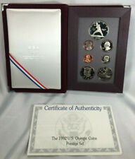 SILVER COIN 1992 S US Mint Olympic Coins Prestige Proof Set Half Dollar