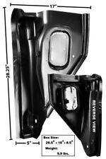 1955-59 Chevrolet Pickup Kick Panel / A-Pillar Vent Panel - LH New