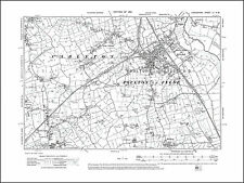 Old map of Poulton le Fylde, Lancashire in 1913: 51NW repro