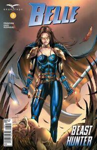 Zenescope GRIMM FAIRY TALES Belle Beast Hunter Issue #3 Cover D Jason Metcalf