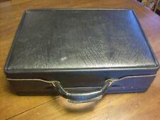 Vintage Hartmann Luggage Black Leather Attache / Briefcase