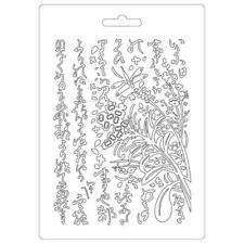 Stamperia Texture Impression A5 Soft Mould/Mold - Oriental Garden K3PTA524 New
