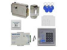 NSEE K208B 125KHz RFID Access Control System Full Kit Electronic Door Lock Push