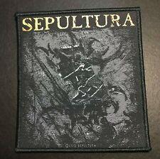 Sepultura The Mediator Brazilian Thrash Metal Woven Patch New