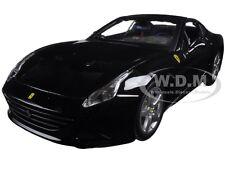 FERRARI CALIFORNIA T BLACK CLOSED TOP 1/24 DIECAST MODEL CAR BY BBURAGO 26002