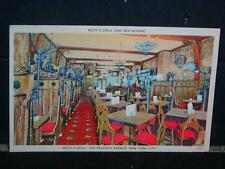 """Antique POSTCARD """"Roth Grill and Restaurant"""", 725 Seventh Ave., New York, NY."""