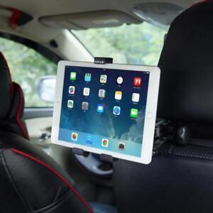 PREMIUM CAR HEADREST MOUNT TABLET & PHONE HOLDER BACK SEAT SWIVEL CRADLE STAND
