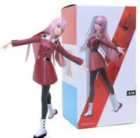 "8"" Anime Darling in the Franxx Zero Two 02 Action Figure PVC Figurine Statue Toy"